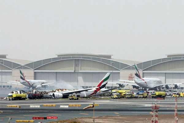 Emirates plane from Thiruvananthapuram crash-lands at Dubai airport; 300 on board safely evacuated