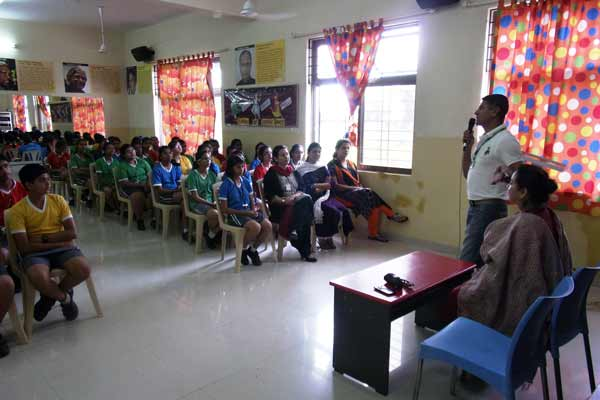 The Orbis School conducts a series of Career Counseling Programmes for young students