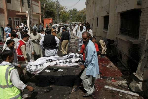 55 Killed, over 100 injured in Pakistan hospital bomb attack