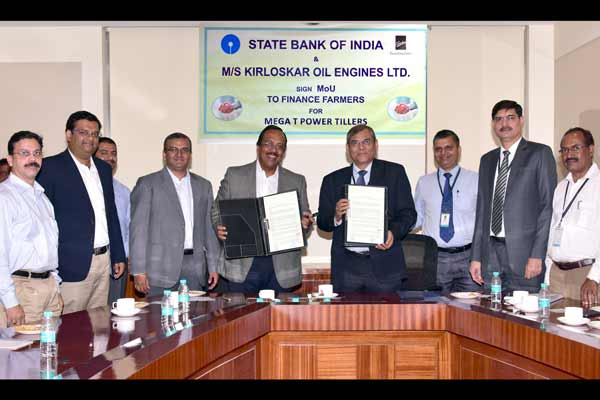 SBI signs MoU with KOEL for financing Mega T-Power Tillers