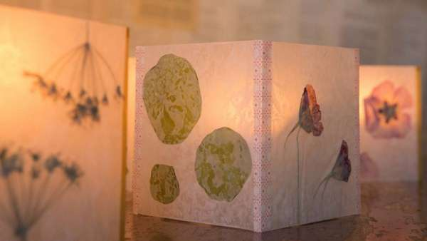 Light up your spaces: beautiful wax paper lanterns