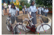 Tata Power distributes bicycles to community students