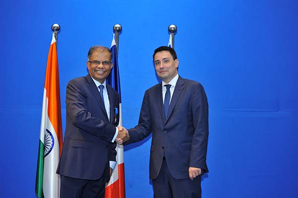 French Republic confers on Dr. Shailesh Ayyangar the Officer in the National Order of Merit