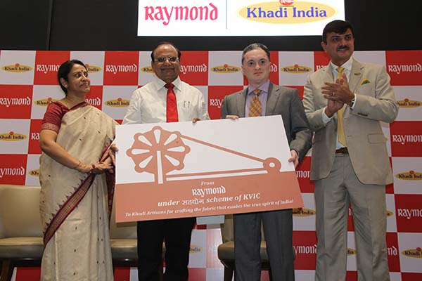 Khadi & Village Industries Commission & Raymond launch India's First Branded Khadi Label