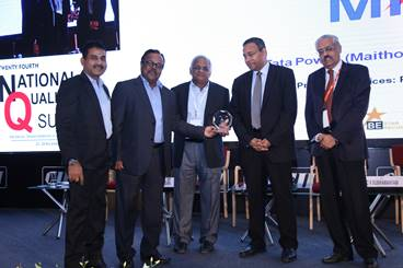 CII awards Maithon Power Plant for its excellence in Operation Management and People Management