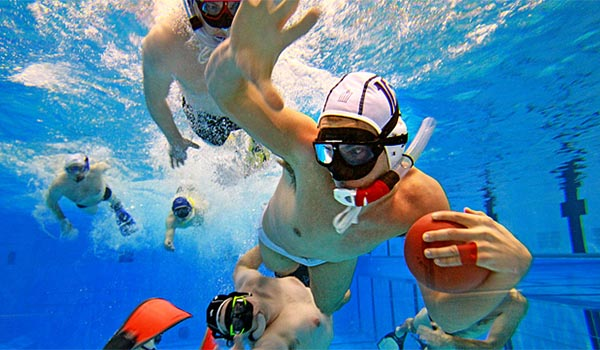 Underwater rugby for free-divers!