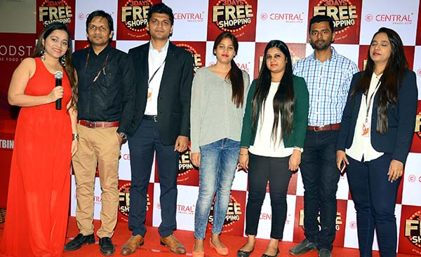 Future Group's Central - India's leading chain of fashion stores announces the '3 Days FREE Shopping'