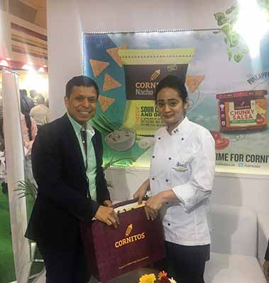 Cornitos gets an overwhelming response at AAHAR International Food & Hospitality Fair