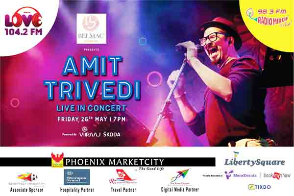 Amit Trivedi Performing 1st time in Pune