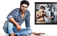 Indian Miniature Artist Suvigya Sharma presents a hyperreal boxing portrait for Justin Bieber