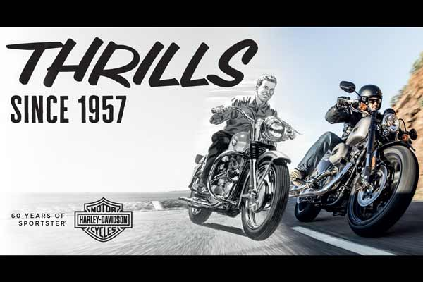 Thrills since 1957 – 60 years of the Harley-Davidson Sportster