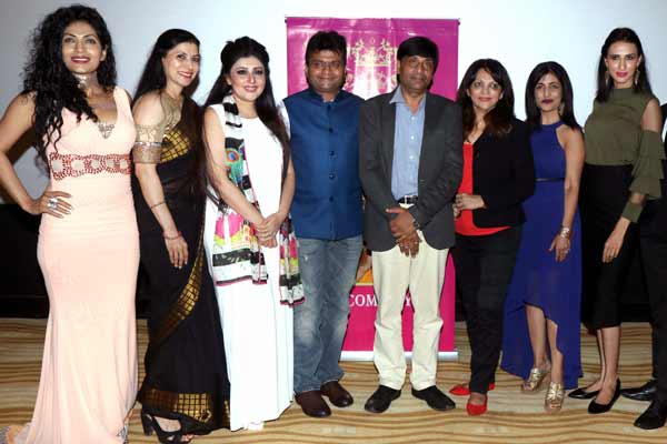 Celebs came at press meet of Mrs Bharat Icon 2017 at The View