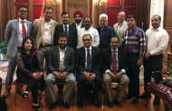 Overseas Congress meets new Indian Consul General - Mr. Sandeep Chakravorty