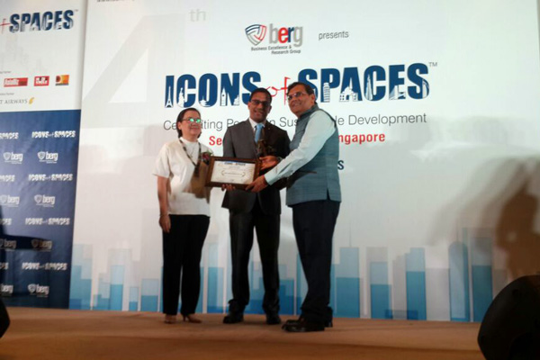 Gera Developments receives international recognition wins 'Developer of the Year' award at Icons of Spaces, Singapore