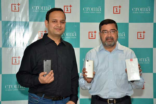 OnePlus elevates Customer experience in India, Partners with Croma to offer premium experiential touch points across key cities