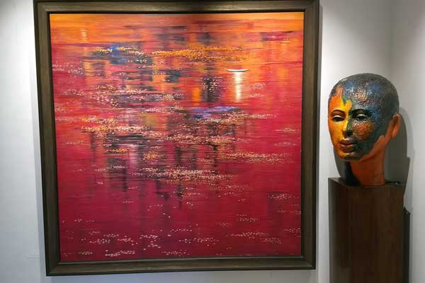 'Canvas and Beyond' a solo show by Pune based artist Madhuri Bhaduri!