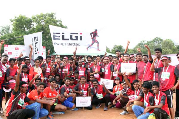 ELGi's innovative campaign #ConquerK2 hits the target of 28251 miles at the Coimbatore Marathon