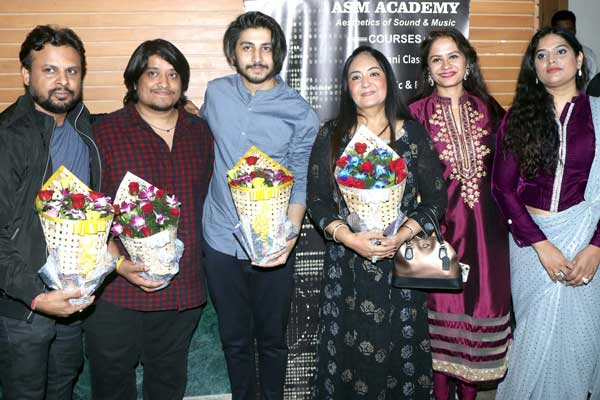 Celebs attended 2nd anniversary of ASM Aesthatics of Sound and Music at Mayor hall