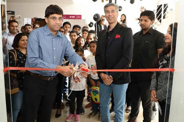 Launch of Viswanthan Anand Chess Academy by Gera Development's ChildCentric Homes Project in Pune