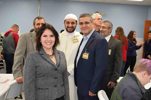 West suburban mosque ICW opened their Doors to Promote Peace and build bridges