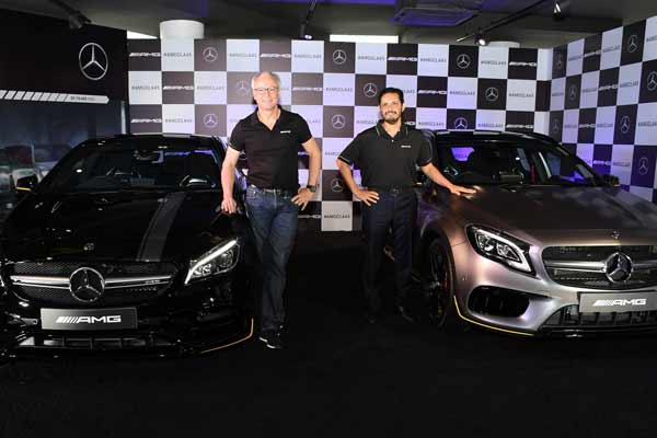 Mercedes-Benz leads the race in compact luxury performance segment; launches the racy Mercedes-AMG CLA 45 and GLA 45 4MATIC