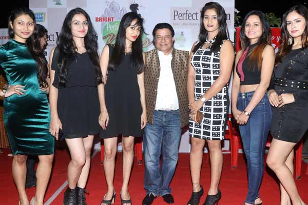 Celebs introduced models for 7th Bright Perfect Miss India at Andheri W