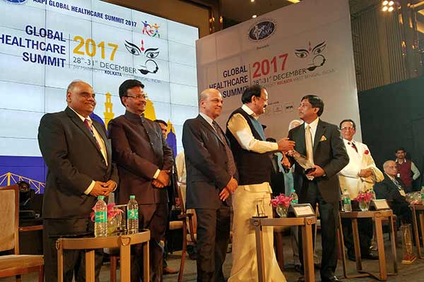 AAPI's historic Global Healthcare Summit Concludes in Kolkata with VP Venkaiah Naidu urging Doctors to Return and Serve India