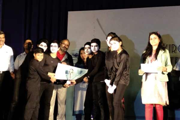 Suryadatta National School students bag the 1st Runners Up prize in the 'Overall Performance Category' & 'Best Script Category' at the 6th Environment Theatre Festival