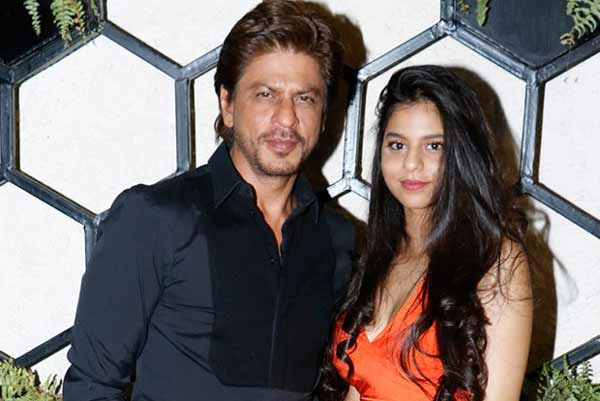 SHAH RUKH KHAN'S SAREE-WISH FOR SUHANA KHAN