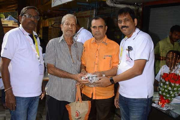 Yogesh Lakhani of Bright Outdoor's Act Of Charity