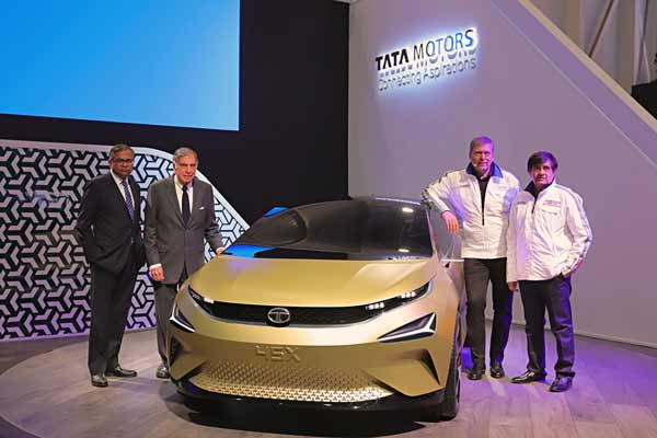 Tata Motors celebrates its 20th year at the Geneva International Motor Show with the world premiere of its E-VISION Sedan Concept