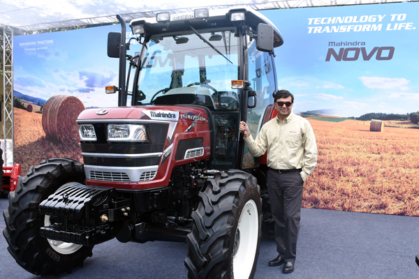 Mahindra sets new benchmark in technology & productivity with the launch of Novo 65 HP & 75 HP tractors