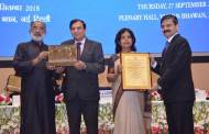 """Hotel The Ashok outshines at National Tourism Awards; receives """"Best Hotel Based Meeting Venue"""" award for the 3rd consecutive year"""