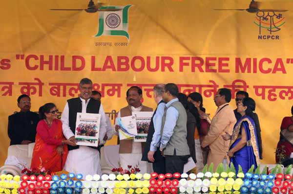 COLLABORATION BETWEEN GOVERNMENT OF JHARKHAND AND KAILASH SATYARTHI CHILDREN'S FOUNDATION (KSCF) TO CREATE CHILD LABOUR FREE MICA