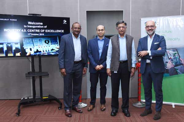 """Bharat Forge Inaugurates """"Industry 4.0 Centre of Excellence"""" in partnership with PTC"""