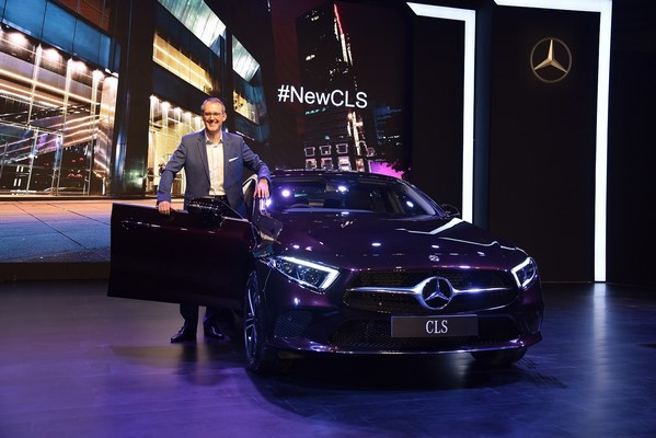 Mercedes-Benz India : The world's first four-door coupe now presented with the new design idiom