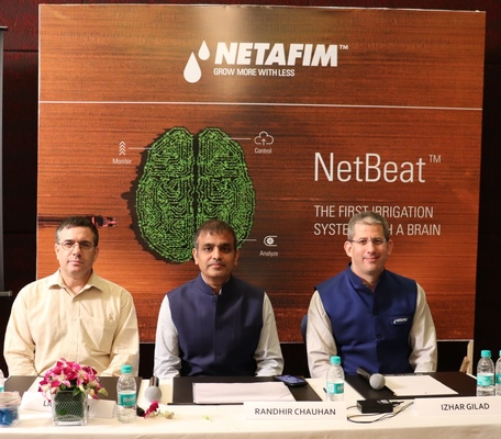 Netafim Launches the World's Most Innovative Digital Irrigation System in India