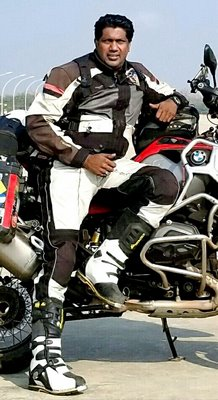 """The concept of motor cycling tour is not famous in India"" - Debasshish Ghosh"
