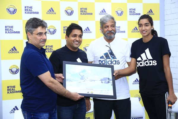 Adidas And Real Kashmir FC Showcase The Magnificence Of Jammu & Kashmir