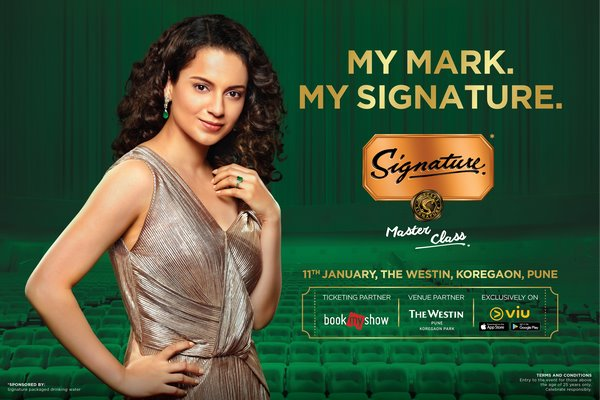 Kangana Ranaut Set To Share Her Powerful Passion To Paycheck Stories In Pune For Signature Masterclass Season Three
