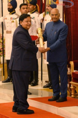 L&T Group Chairman A M Naik Honoured With Padma Vibhushan