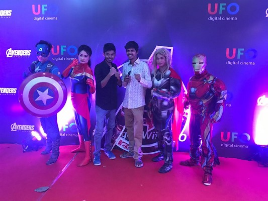 UFO Moviez organised a special screening of the most awaited film 'Avengers Endgame'