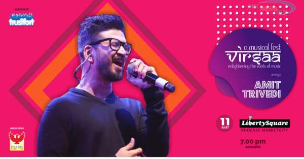 Virsaa is back to mesmerize Punekars with Amit Trivedi