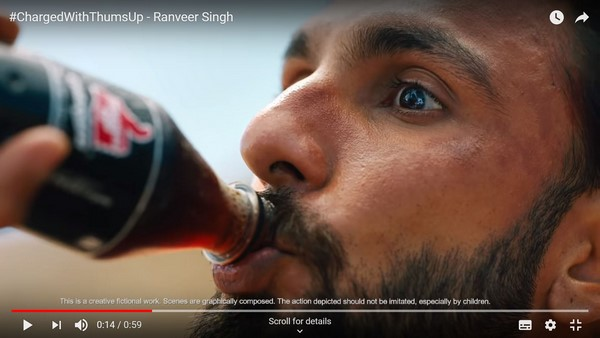 #TakeCharge this summer with Thums Up's new action-packed film