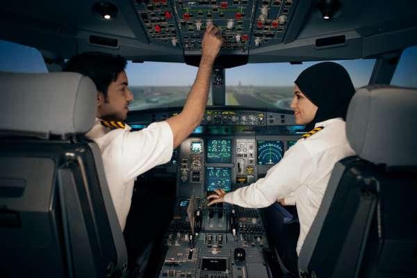 GLOBAL DEMAND FOR AIRLINE PILOTS DRIVES MAJOR GROWTH FOR ETIHAD'S AVIATION TRAINING DIVISION