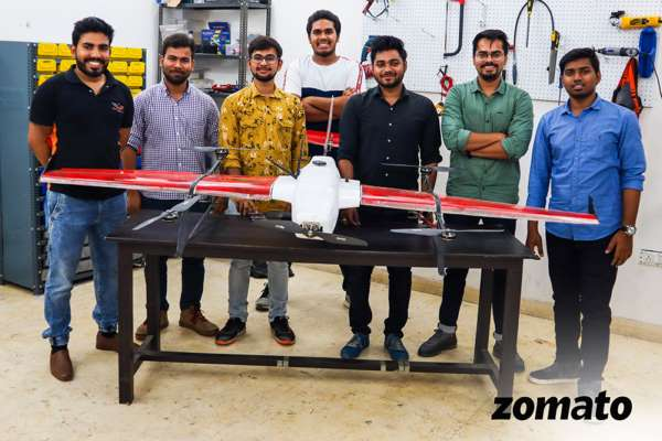 Zomato successfully tests its drone technology