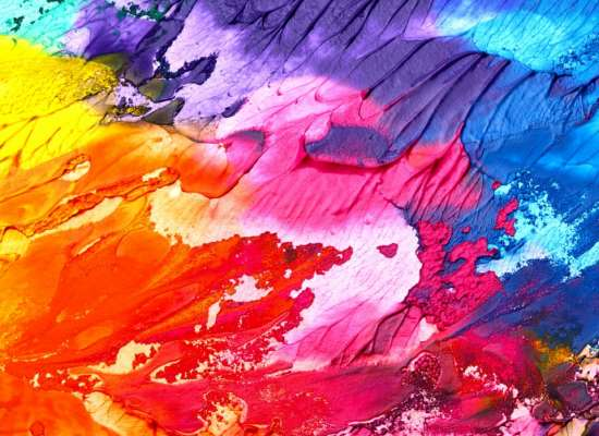 Abstract Painting workshop by Tilting Art gallery at Foyer, CREATICITY