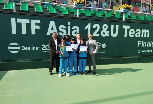 India  Win Gold at the U12 Asian Team Championship, Kazakshtan