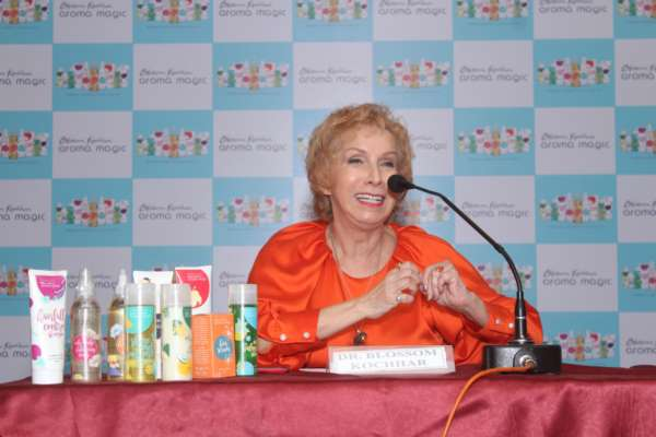 Blossom Kochhar Aroma Magic Launches India's First Aromatherapy Hair Care Range in Pune