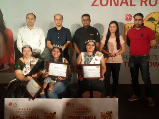 PUNE WITNESSED TOUGHEST ZONAL ROUND OF LG'S MALLIKA-E-KITCHEN COOKING CONTEST
